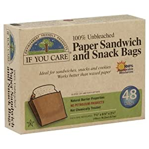 If You Care - Sandwich Snack Bags - Kate's Kitchen