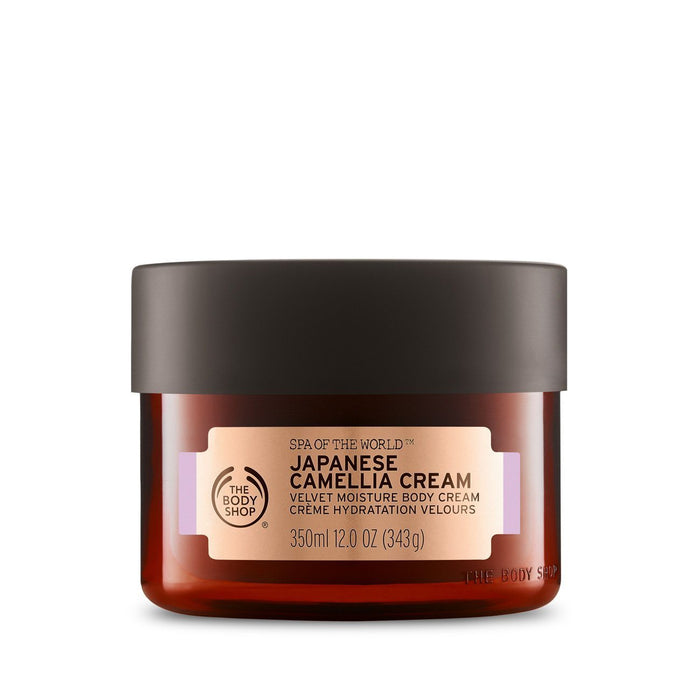 The Body Shop Spa Of The World Japanese Camelia Body Cream - Kates Kitchen