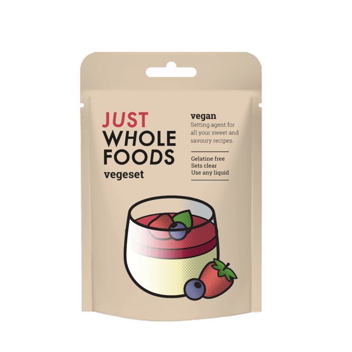 Just Wholefoods Vegeset Vegetarian Gelatine - Kate's Kitchen