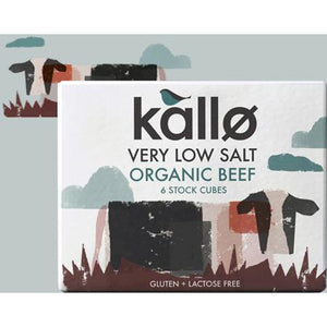 Kallo Very Low Salt Beef Stock Cubes - Kate's Kitchen