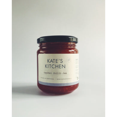 Kate's Capital Chilli Jam - Kate's Kitchen