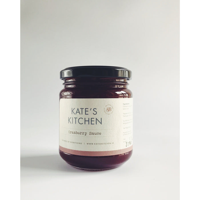 Kate's Cracking Cranberry Sauce