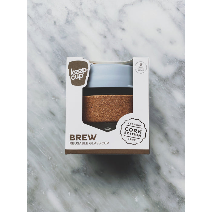 KeepCup Brew Cork Grey 8oz - Kate's Kitchen