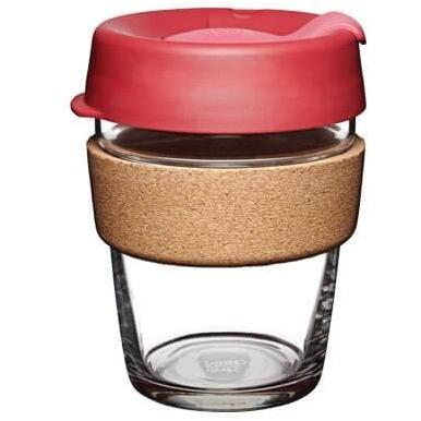 "Keep Cup ""Brew Cork"" Reusable Glass Cup Thermal 12oz"