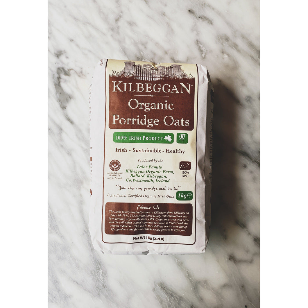 Kilbeggan Irish Organic Oats - Kate's Kitchen