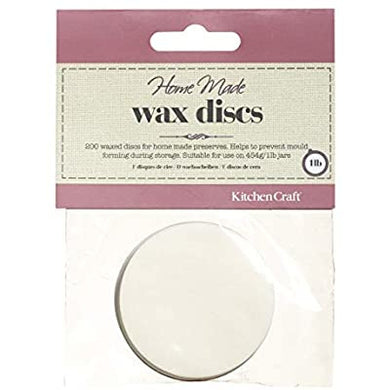Kitchen Craft Waxed Discs For Jars - Kate's Kitchen
