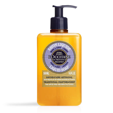 L'Occitane - Lavender Liquid Soap 500ml - Kate's Kitchen