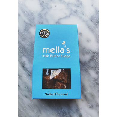 Mellas Salted Caramel Fudge - Kate's Kitchen