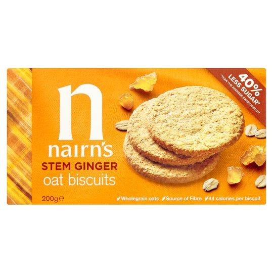 Narins Stem Ginger Oat Biscuits - Kate's Kitchen
