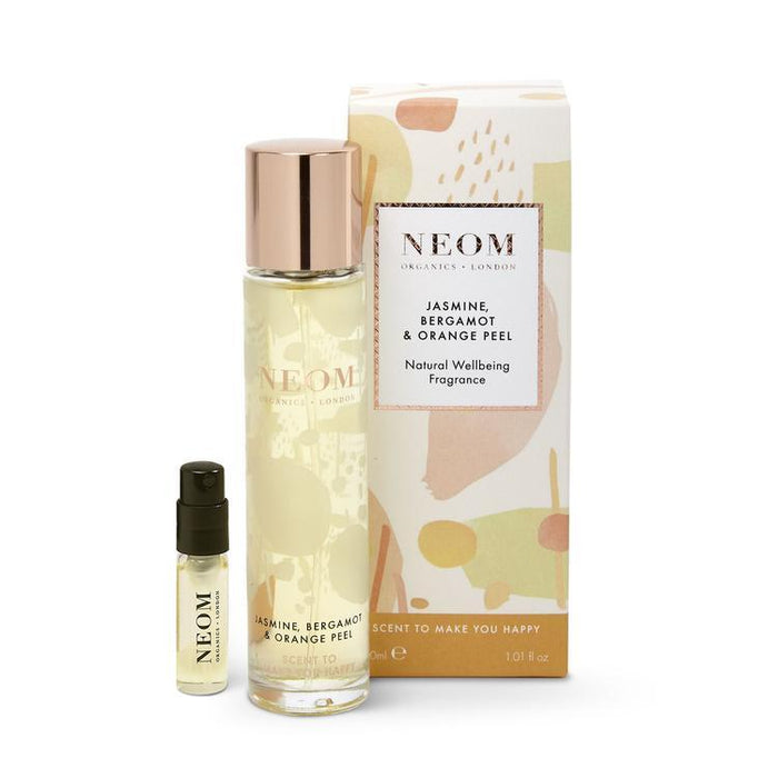 Neom Jasmine, Bergamot & Orange Peel Natural Wellbeing Fragrance
