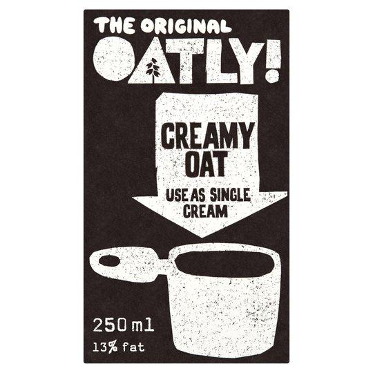 Oatly Oat Cream - Kate's Kitchen