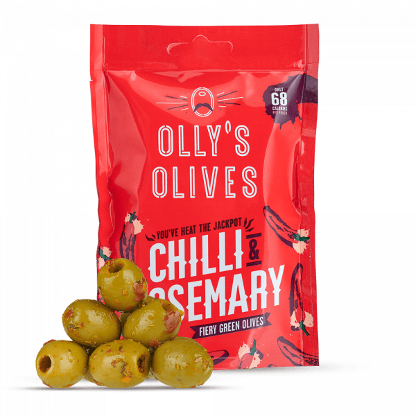 Olly's Chilli & Rosemary Green Olive - Kate's Kitchen