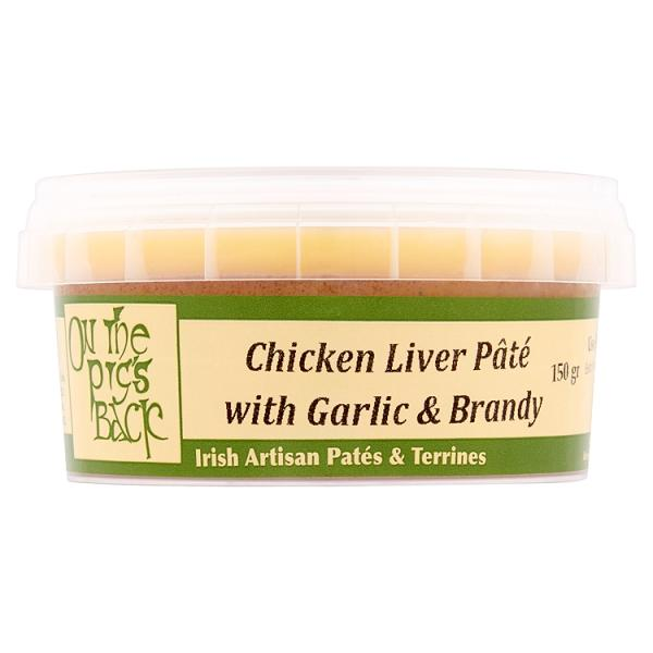 On The Pigs Back Garlic & Brandy Chicken Liver Pate - Kate's Kitchen
