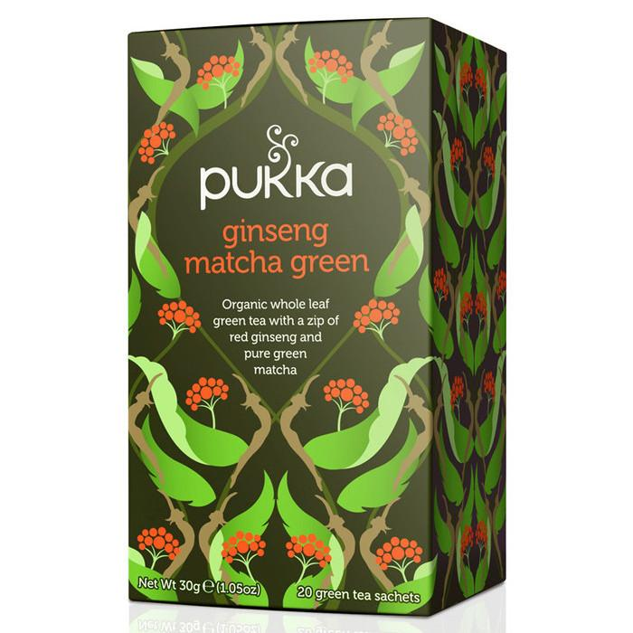 Pukka Ginseng Green Matcha Tea - Kate's Kitchen