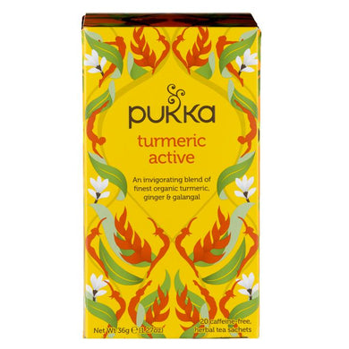 Pukka Tumeric Active Teabags - Kate's Kitchen