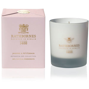 Rathborne - Botanical Bee Jasmine & Petit Grain Candle - Kate's Kitchen