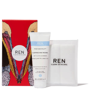 REN Cleanse and Reveal Hot Cloth Gift Set - Kate's Kitchen