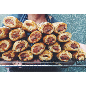 Saturday Only -Sausage Rolls (2 pack) - Kate's Kitchen