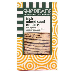 Sheridans Mixed Seed Crackers - Kate's Kitchen