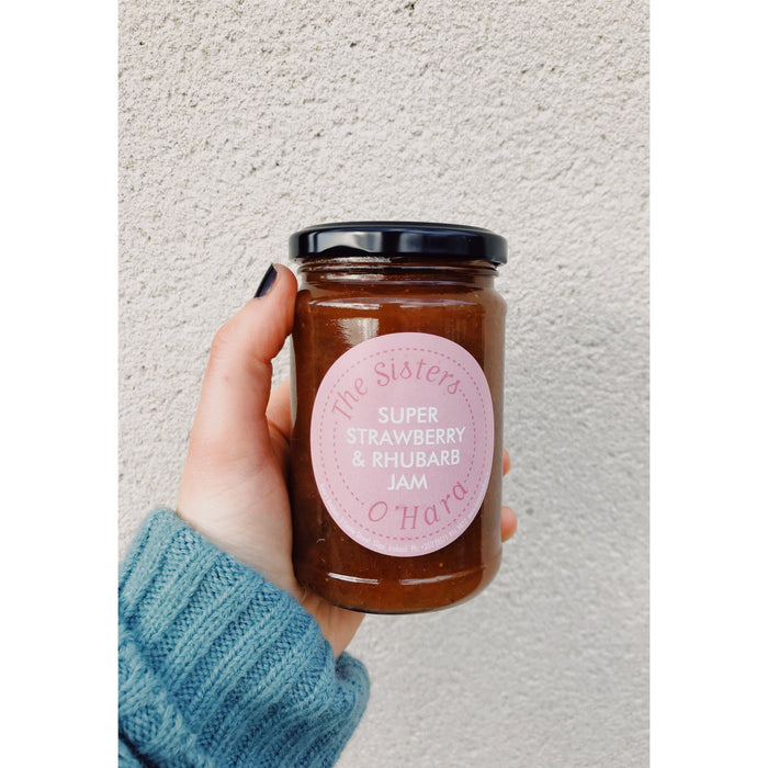 Kate's Strawberry & Rhubarb Jam - Kate's Kitchen