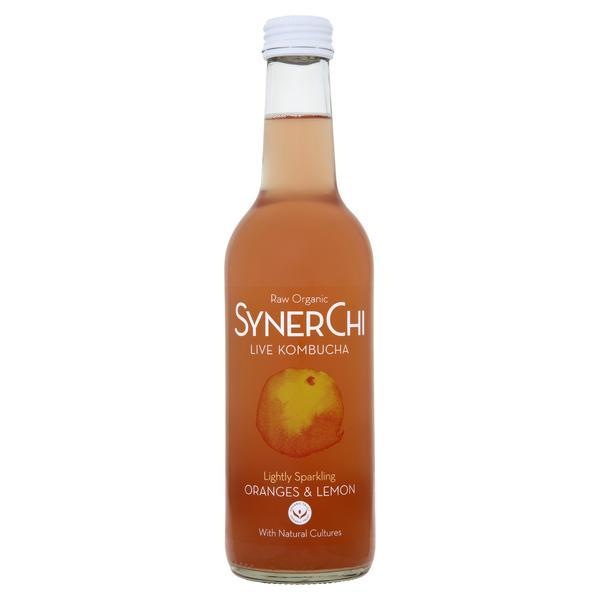 SynerChi Orange & Lemon Kombucha - Kate's Kitchen