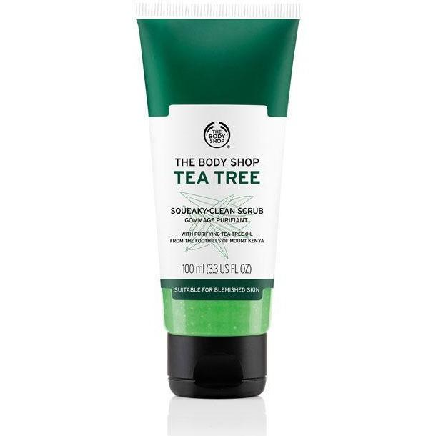 The Body Shop Tea Tree Squeaky Clean Scrub - Kates Kitchen