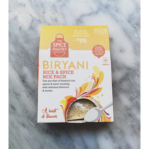 The Spice Pioneer Biryani Rice & Spice Mix Pack - Kate's Kitchen