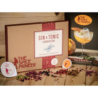 The Spice Pioneer Gin & Tonic Garnish Box - Kate's Kitchen