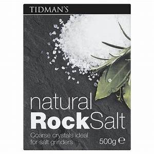 Tidmans Natural Rock Salt - Kate's Kitchen