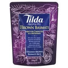 Tilda Wholegrain Rice - Reheat Pouch - Kate's Kitchen