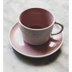 Tint Porcelain Cup & Saucer - Kate's Kitchen