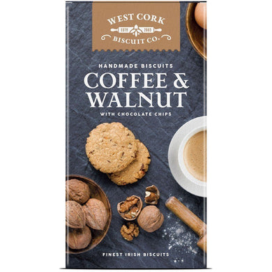 West Cork Biscuit Co - Coffee & Walnut - Kate's Kitchen