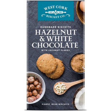 West Cork Biscuit Co - Hazelnut & White Chocolate - Kate's Kitchen