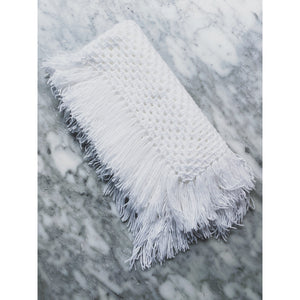 Wool Baby Blanket - All White - Kate's Kitchen
