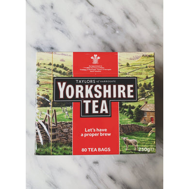 Yorkshire Teabags 80 - Kate's Kitchen