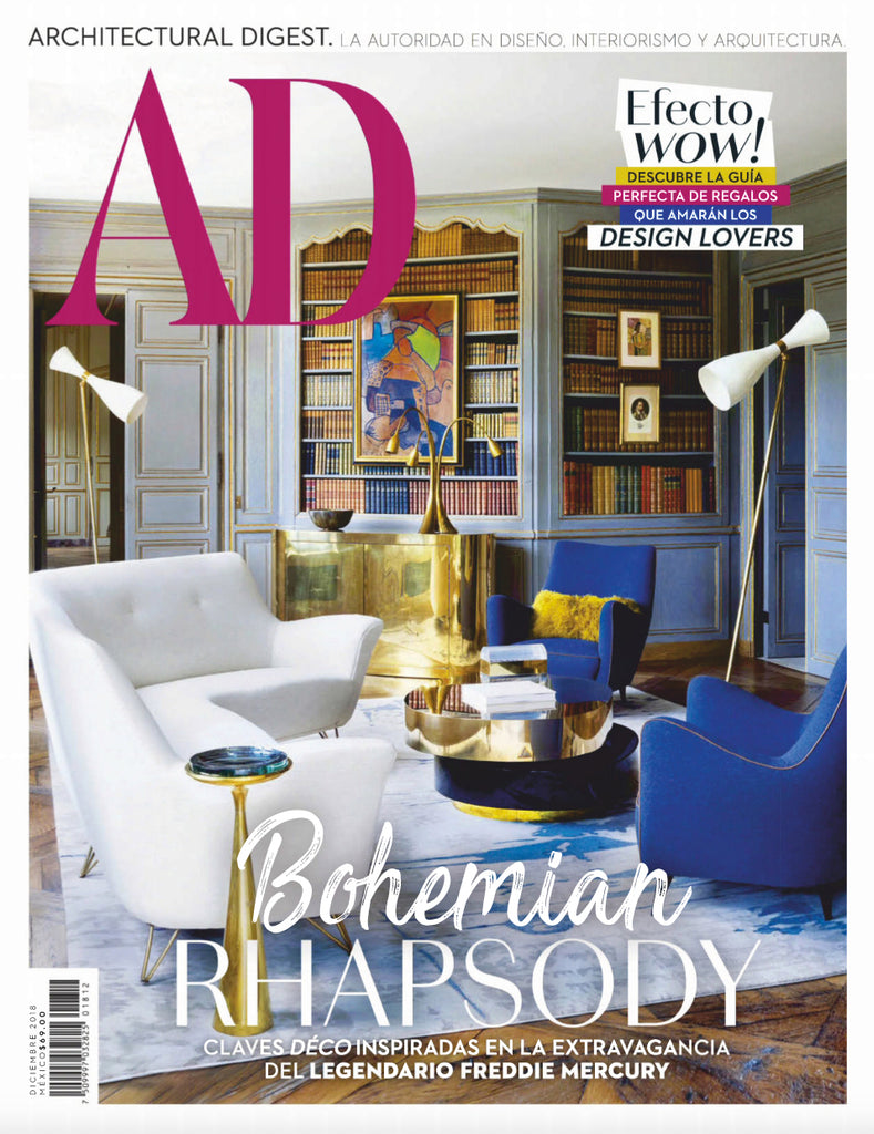 AD Architectural Digest Mexico / Dec 2018