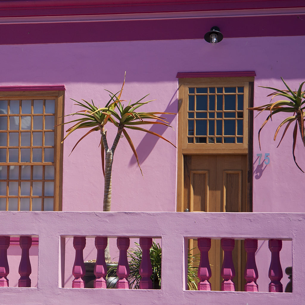 Colour blocking Bo-Kaap