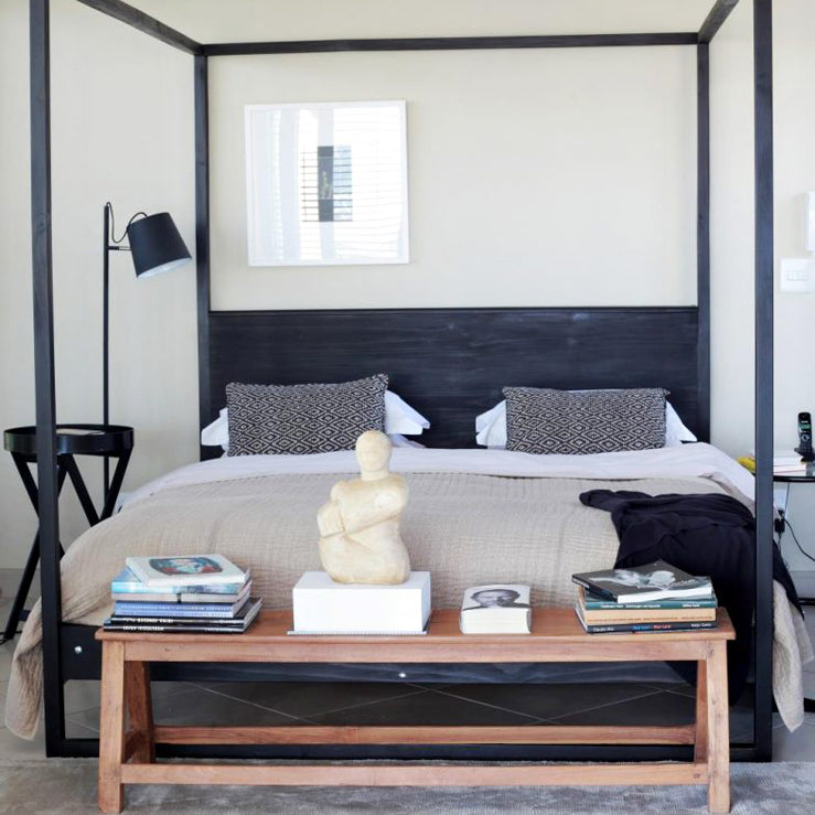 Four-poster beds