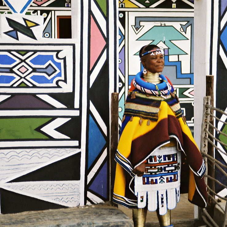 Geometric design: Ndebele