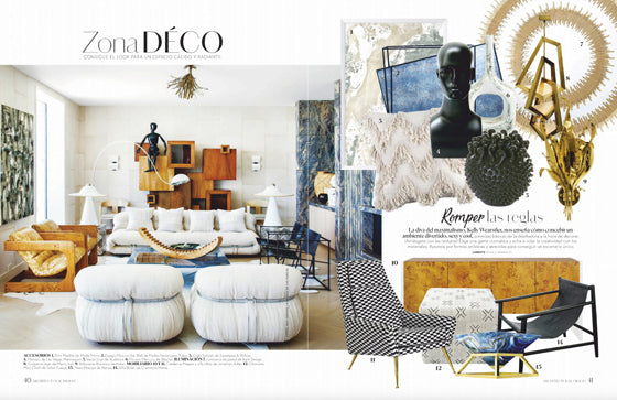 AD Architectural Digest Mexico / Feb 2019 | Seen In | Safari Fusion www.safarifusion.com.au