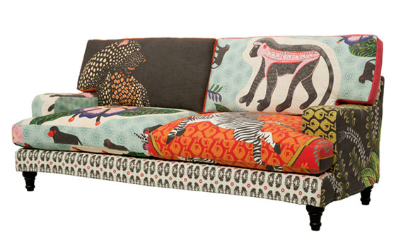Safari Journal / Blog by Safari Fusion | Admiring Ardmore | Ardmore's jungle inspired Qalakabusha Sofa
