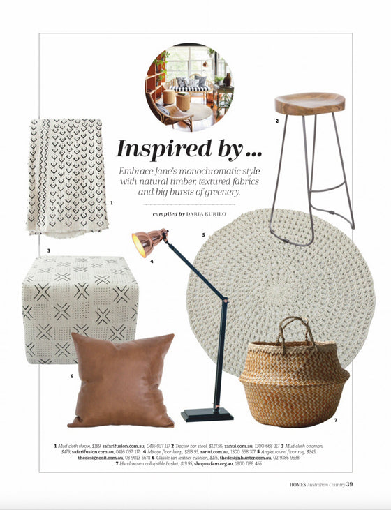 Australian Country Homes / No.9 May 2019 | Seen In | Safari Fusion www.safarifusion.com.au