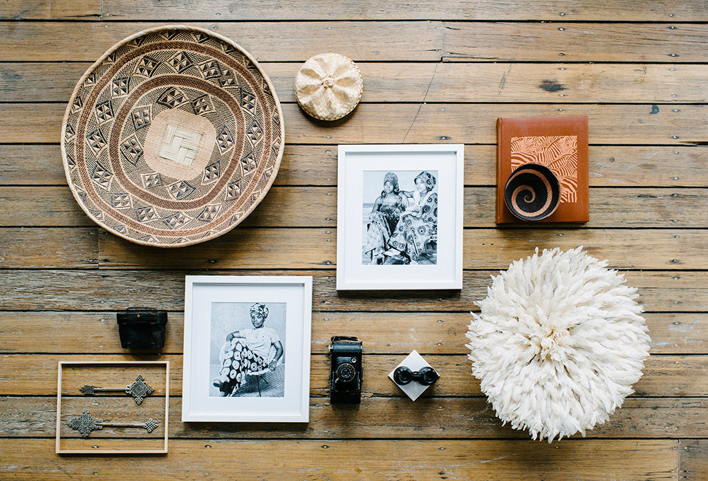 Safari Journal / Blog by Safari Fusion | African baskets / batonga | A Safari Fusion photography flat lay featuring a Batonga Basket