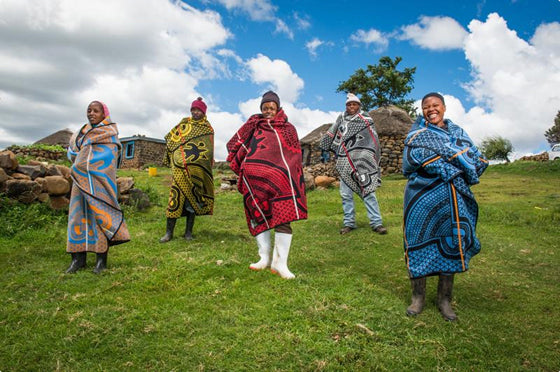 Basotho blankets | The cultural identity of the landlocked African mountain kingdom of Lesotho