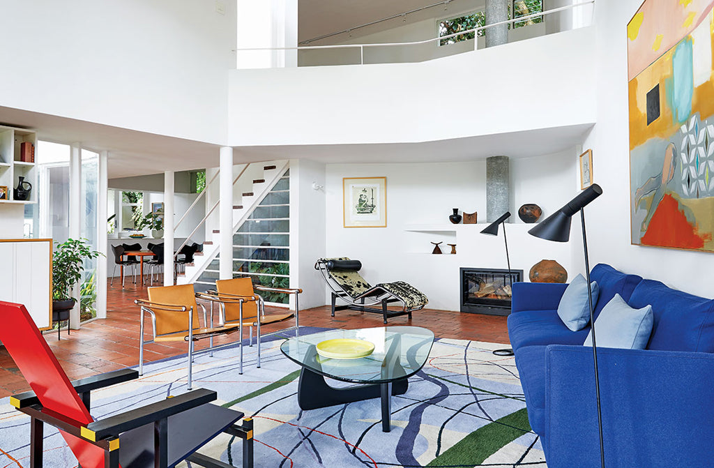 Safari Journal / Blog by Safari Fusion | Bold colour | A heritage modernist Cape Town home
