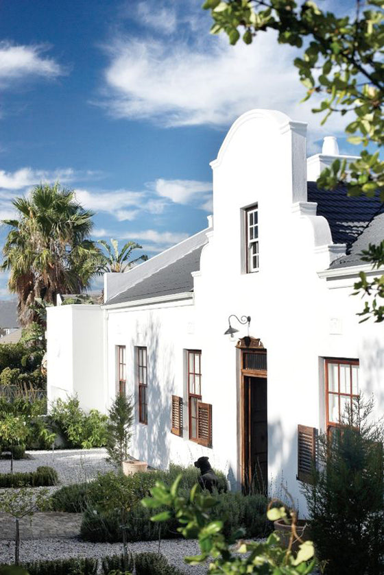 Safari Journal / Blog by Safari Fusion | Cape Dutch style | A reinvented Cape Dutch beauty in South Africa
