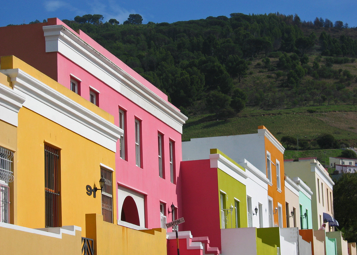 Safari Journal / Blog by Safari Fusion | Colour blocking Bo-Kaap | Colourful houses of Cape Town's Cape Malay Quarter | © Kellie Shearwood