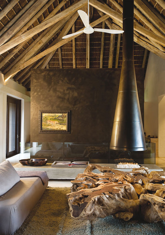 Contemporary farmhouse | Refined organic style residence in South Africa's lowveld