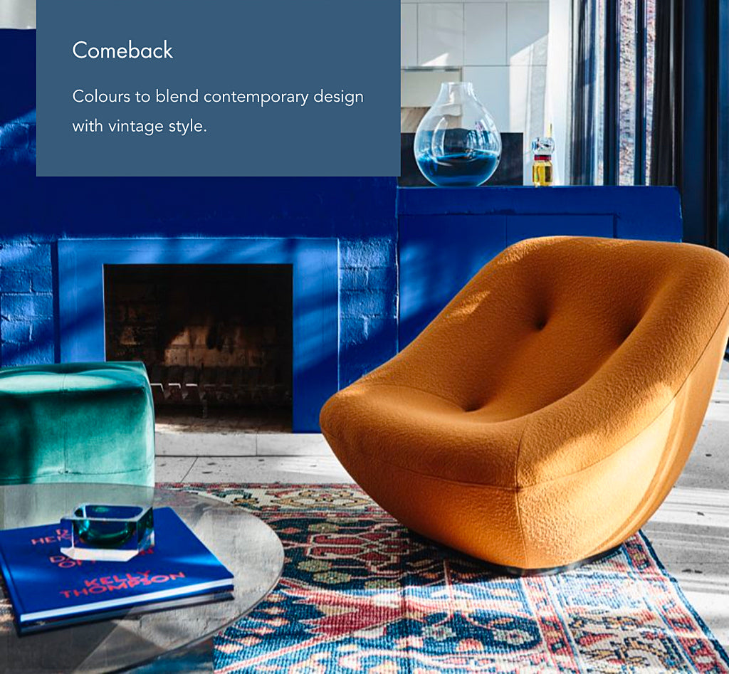 Safari Journal / Blog by Safari Fusion | The Dulux Colour Forecast 2020 'Essence' | Comeback