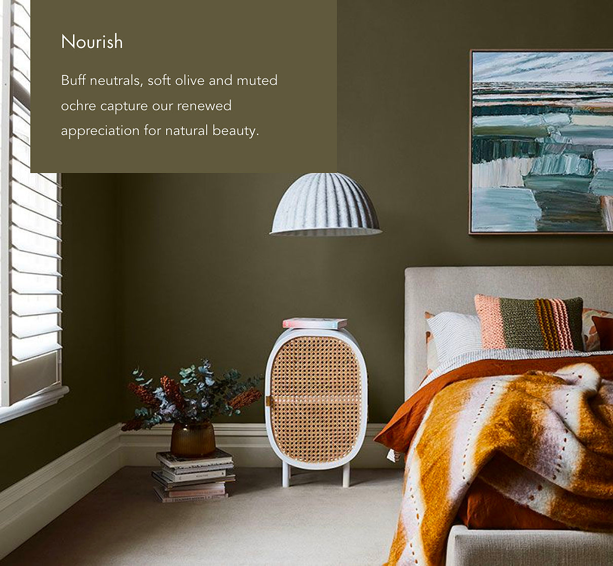 Safari Journal / Blog by Safari Fusion | The Dulux Colour Forecast 2021 'Retreat, Nourish and Reset'